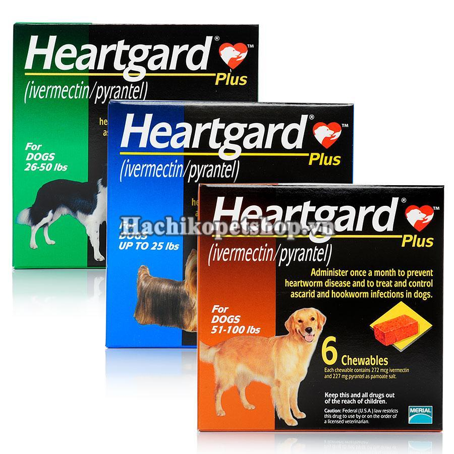HEARTGARD® PLUS XỔ GIUN TIM