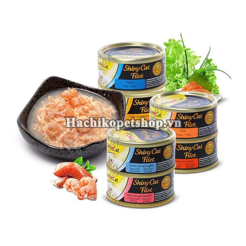 Gimcat pate FILET / JELLY 70GR